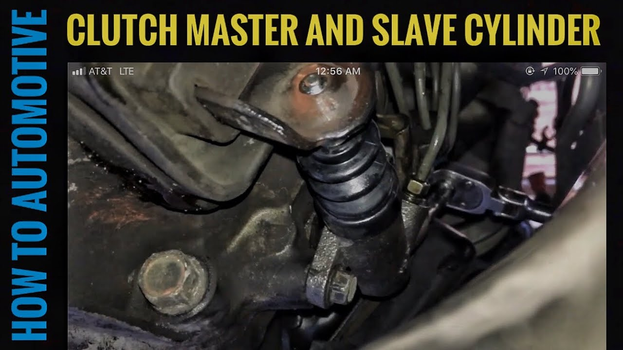 how to replace the clutch master cylinder and slice cylinder on a 1998-2005  mazda miata - youtube  youtube