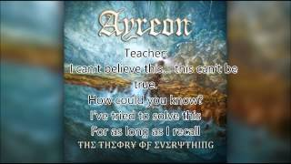 Ayreon-The Teacher's Discovery, Lyrics and Liner Notes