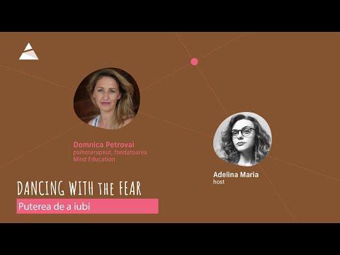 Despre puterea de a iubi cu psihoterapeutul Domnica Petrovai - Podcast Dancing with the fear