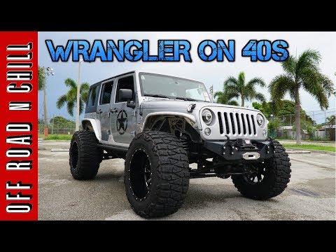 40 inch Tires on Dana 30 Possible? Jeep Wrangler JK Walk Around