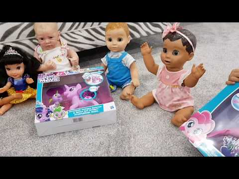 Thumbnail: Pretend Playing Dolls Nursery Rhymes for Kids