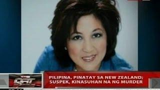 Pilipina, pinatay sa New Zealand; suspek, kinasuhan na ng murder