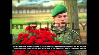 Germany: Putin And Merkel Lay Wreaths And Open Hannover Trade Fair