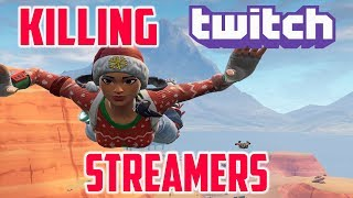 KILLING TWITCH STREAMERS with THEIR REACTIONS! MY BEST CLIPS EDITION! - Fortnite Battle Royale