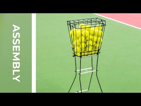 How To: Assemble Tennis Ball Basket | Net World Sports