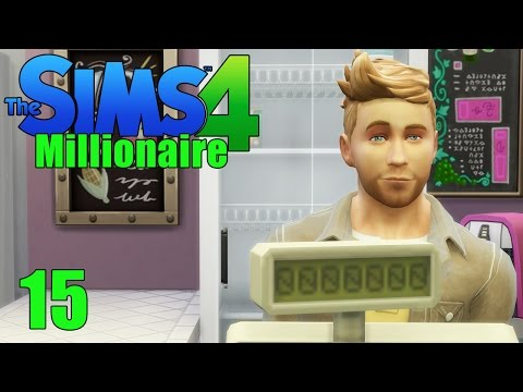 OPEN FOR BUSINESS! - Sims 4 - The Sims 4 Millionaire Ep.15