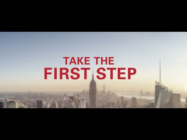 #YourTimeIsNow - Take that first step