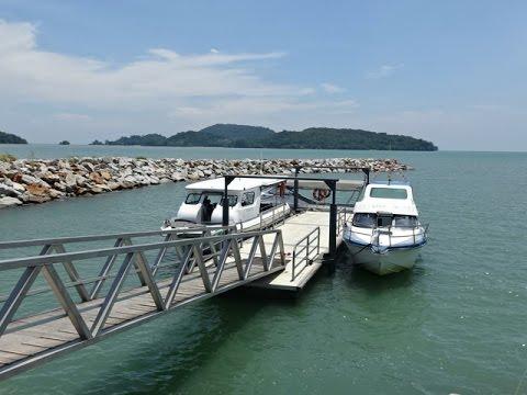 Taj Vivanta Rebak Island Resort - speedboat transfer. Langkawi, Malaysia
