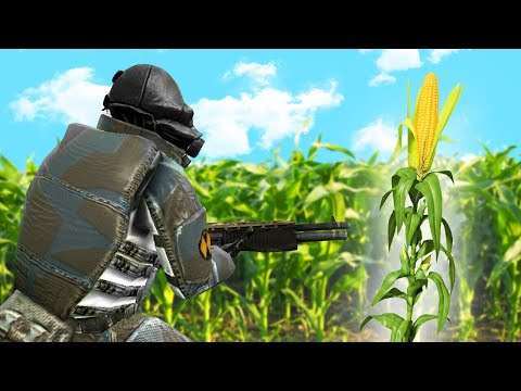 HIDE AND SEEK IN A CORNFIELD! (Gmod Prop Hunt)