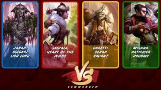 Commander VS S6E3: Jarad vs Selvala vs Daretti vs Mishra [MTG]