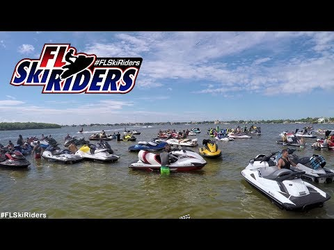 100+ Jet Ski's riding in Tampa Bay