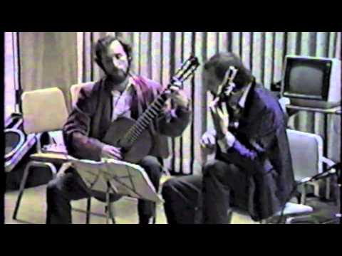 Elgart and Yates Guitar Duo Perform Ragtime, by Paul Hindemith
