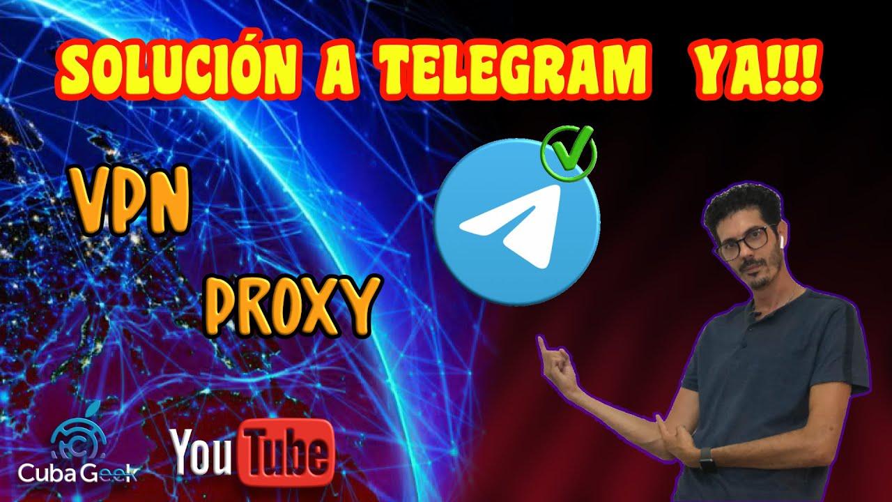 🚫 ¿Cómo acceder a Telegram si está bloqueado? 🚫 - YouTube