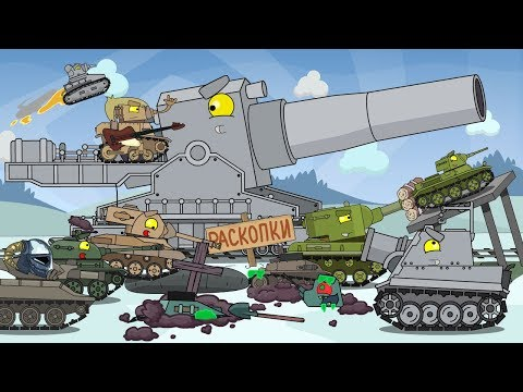 Top 12 episodes / Cartoons about tanks