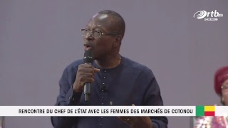 Video 1ère PARTIE de la Rencontre du chef de l'état avec les femmes des marché de Cotonou download MP3, 3GP, MP4, WEBM, AVI, FLV Oktober 2018