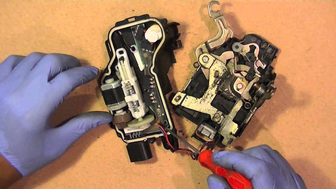 VW Door Lock Control Module Fix Repair, Simple Easy Repair  YouTube