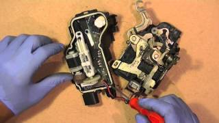 VW Door Lock Control Module Fix Repair, Simple Easy Repair