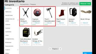 *FREE* MARVEL AVENGERS OBJECTS IN CATALOG! 🌟 Roblox