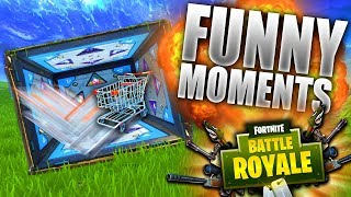 FORTNITE BOUNCE BOX GLITCH FUNNY MOMENTS! Ft Crispy Concords | Best In Class