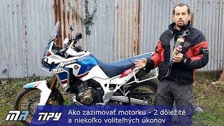 MR Tipy: Ako zazimovať motorku - 2 dôležité a niekoľko voliteľných úkonov - motoride.sk