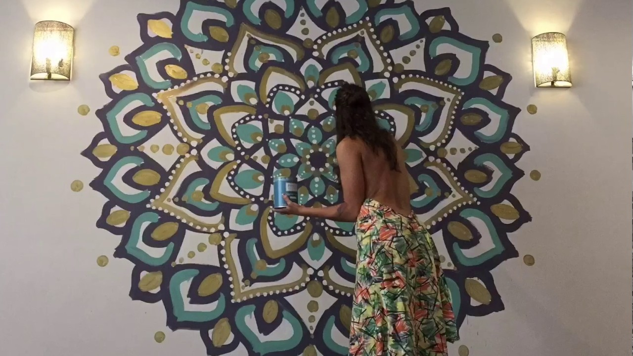 Mandala Mural Youtube