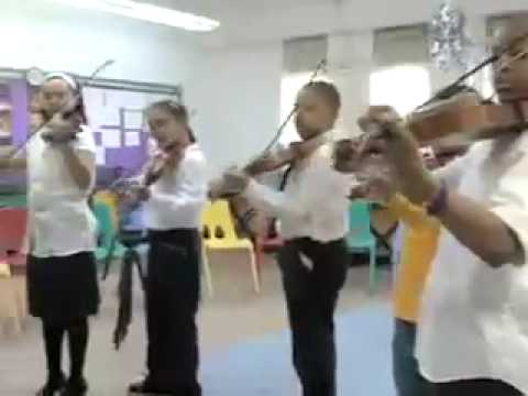 The Bronx Arts Ensemble music-education program