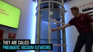 Home Lifts powered by Air. Pneumatic Vacuum Elevators