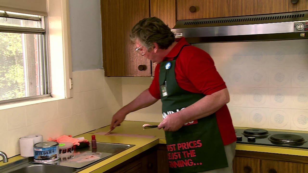 How To Repair A Laminate Benchtop DIY At Bunnings YouTube