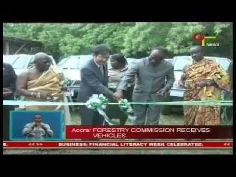 Forestry Commission Receives Vehicles