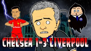 👻Chelsea 1-3 Liverpool - Thriller Parody👻 (Goals Highlights Coutinho 2015 Halloween Song)
