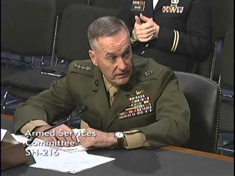Sen. Ted Cruz Questions General Joseph F. Dunford, Jr., USMC At SASC Hearing