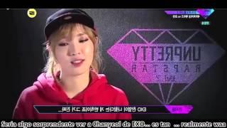 [SUB ESP] Heize & Chanyeol_Ensayo Semifinal [Episodio 9] Unprett Rapstar 2
