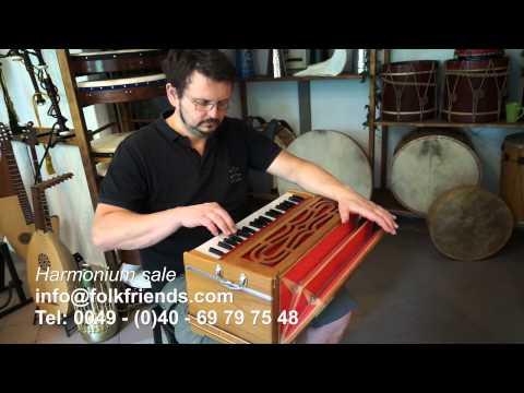 indisches Harmonium - indian harmonium - Reed Organ