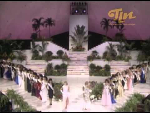 1986 Concurso Internacional Miss Hawaii - Espectaculares Jes