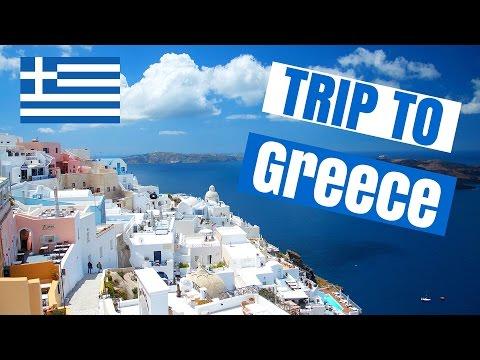 TRAVEL GUIDE TO GREECE !!! (ISLANDS SANTORINI, CRETE, MILOS & ATHENS !!)