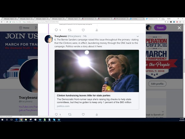 FEC Lawsuit, and Wikileaks to the Rescue!