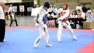 Newburn TKD Midwest Michigan Championships Nov 21 2015