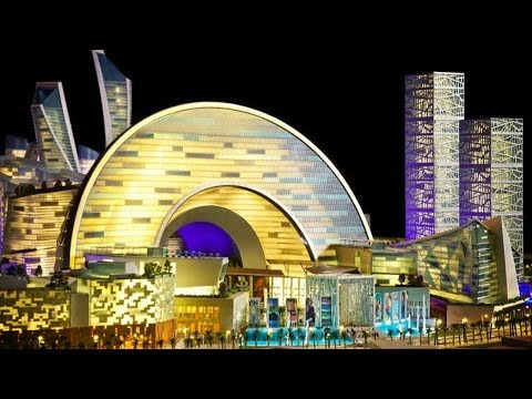 Dubai's New Mall of the World Big as a City!