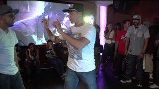 Salah & Boogie Frantick team up for 3 way all styles battle at Odin Rock
