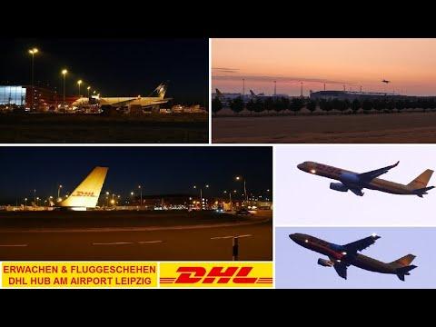 Fluggeschehen am DHL Drehkreuz Leipzig (LEJ) l Planespotting - Cygnus Air, Solinair, DHL & MNG .. HD