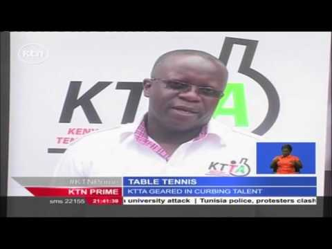 Kenya table tennis association hopes to spread the sports beyond Nairobi