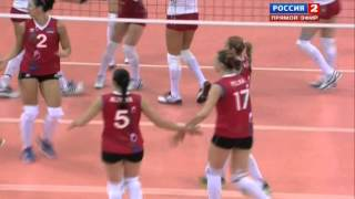 Волейбол  ЧЕ  Женщины  Россия Азербайджан  08 09 2013