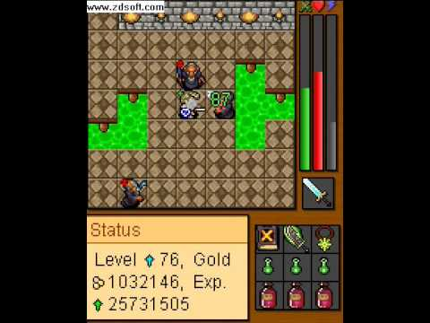 TibiaME Red Mages Hunt w7