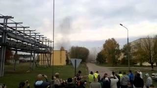Wysadzanie komina EC-II Toruń Elana