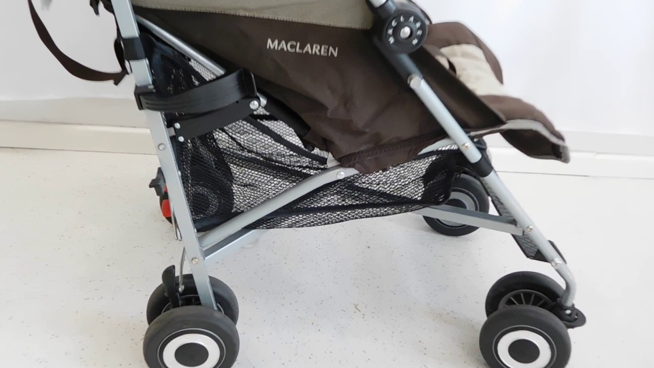 Silla paseo maclaren quest youtube for Cochecitos de bebe maclaren