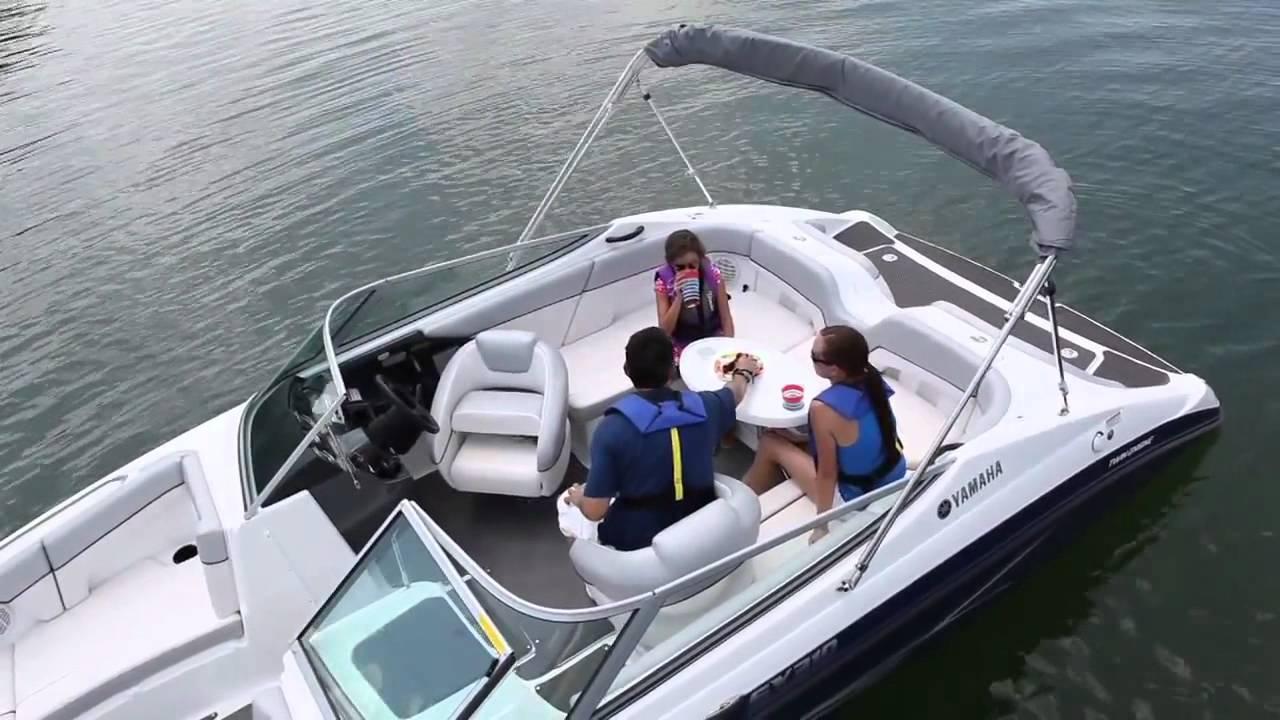 2012 Yamaha SX210 - iboats.com - YouTube