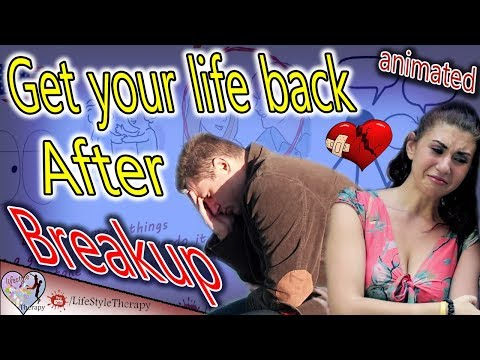 6 Steps to overcoming depression after a breakup & get your life back | animated video