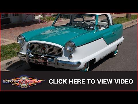 1957 Nash Metropolitan (SOLD)