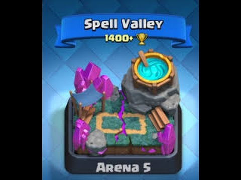 clash royale how to trophy push to arena 5 lvl 4 5 6