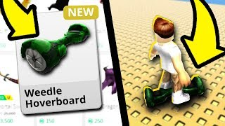 Weedle Hoverboard For Sale in Roblox!!